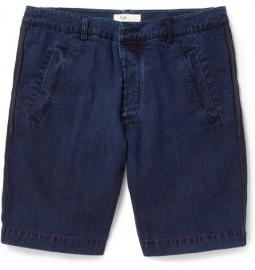 Folk Regular-fit Washed-denim Shorts