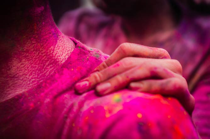 Holi Festival of Colours 2014. © SteveGerner/Flickr