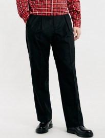 Topman Tmd Charcoal Stripe Wide Trousers