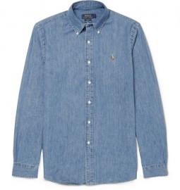 Polo Ralph Lauren Slim-fit Cotton-chambray Shirt