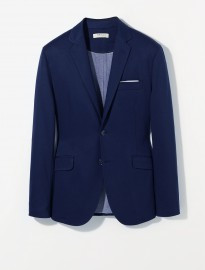 He By Mango Unstructured Jersey Blazer