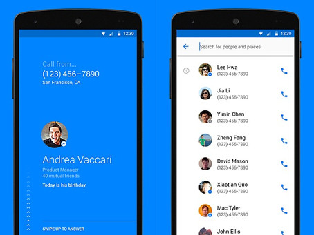 Facebook Hello Dialler and Caller ID App Unveiled for Android