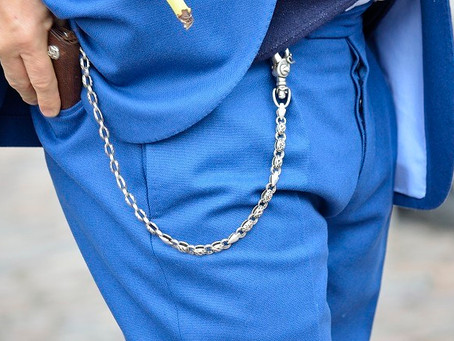 Men's Pocket chain inspiration