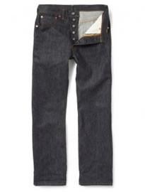 Levis Vintage Clothing 501 Shrink-to-fit Selvedge Denim Jeans