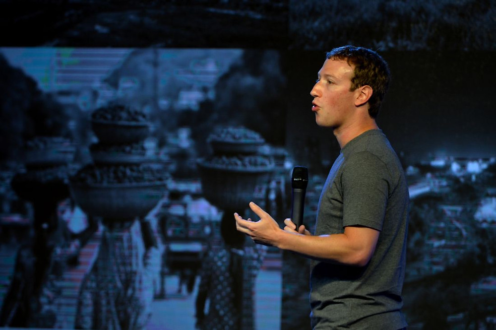 Mark Zuckerberg in India