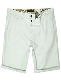 River Island Pale Green Chino Shorts