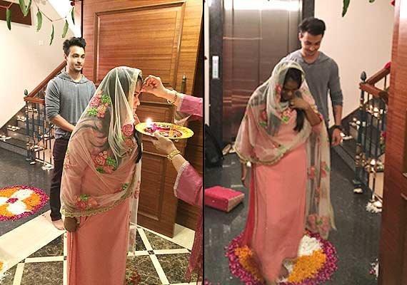 Salman Khan's sister Arpita Khan's 'grah pravesh' ceremony pics