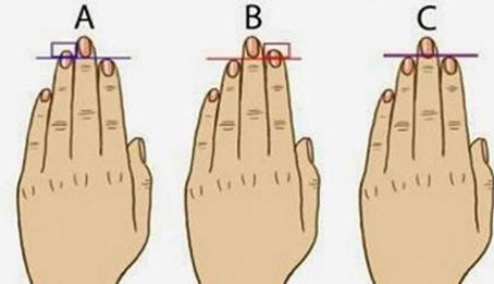 This Is What The Length Of Your Fingers Say About You