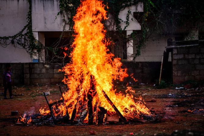 Holi Celebrations. © HarshaKR/Flickr