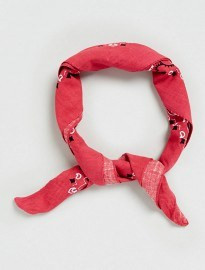 Topman Red Paisley Bandana