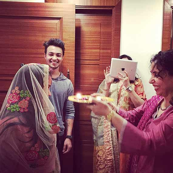 arpita khan wedidng pics