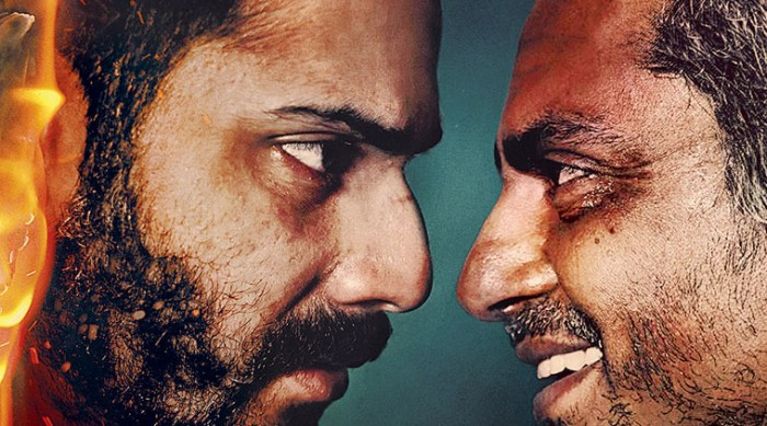 Badlapur Movie Poster feat. varun and Nawaz