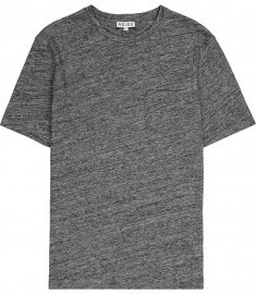 Reiss Marshall Pocket Detail T-shirt Charcoal