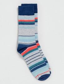 Topman Multi Coloured Striped Socks