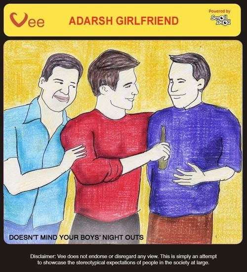 These 8 Posters Tell You How An Adarsh Girlfriend Should Be Like