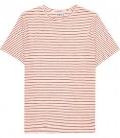 Reiss Sandy Classic Stripe T-shirt Orange