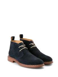 He By Mango Suede Desert Boots