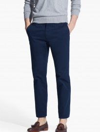 He By Mango Straight-fit Cotton Chinos