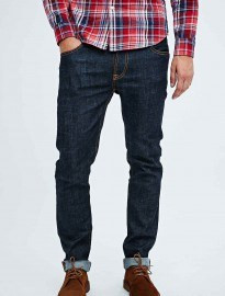 Nudie Jeans Thin Finn Jeans In Dry Twill