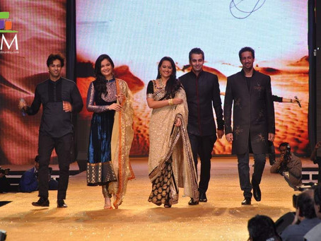 Ahmedabad Fashion Show of Shyamal and Bhumika