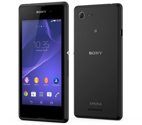 xperia-e3-black - Best Android Phones under 10000 Rs