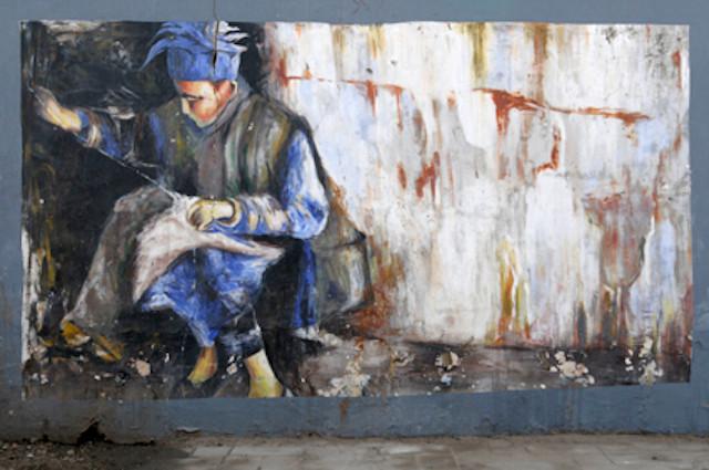Ahmedabad street art graffiti