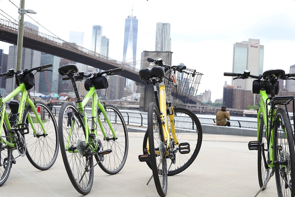 Unlimited Biking Bike Rentals in New York City