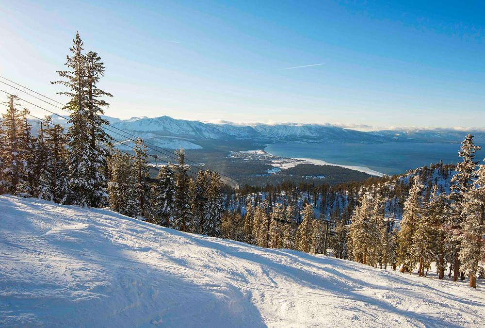Tahoe South ski slope