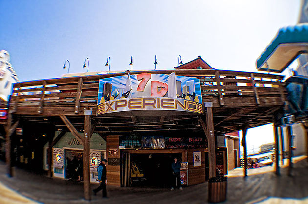 7D Experience Entrance at Pier 39