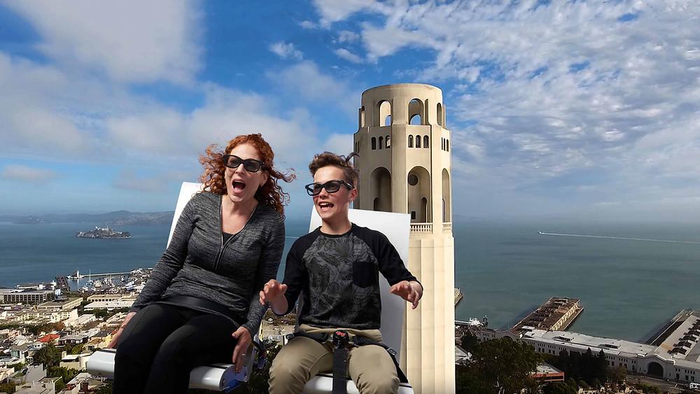 The Flyer - San Francisco ride