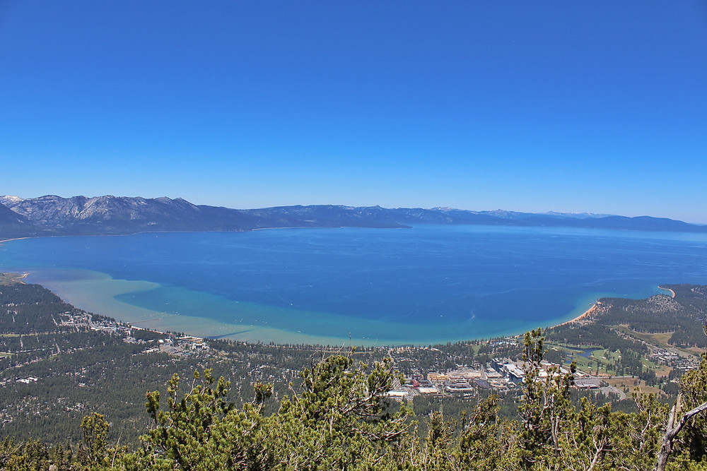 View from Heavenly Gondola South Shore of Lake Tahoe