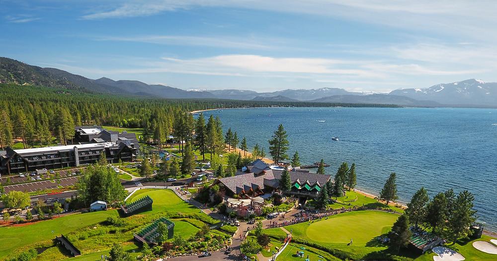 Edgewood Tahoe Aerial vie