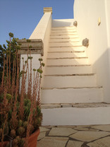 Stairs to tarrace