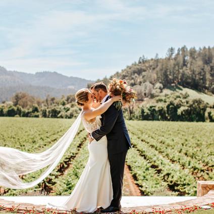 Laid Back Wine Country Micro-Wedding