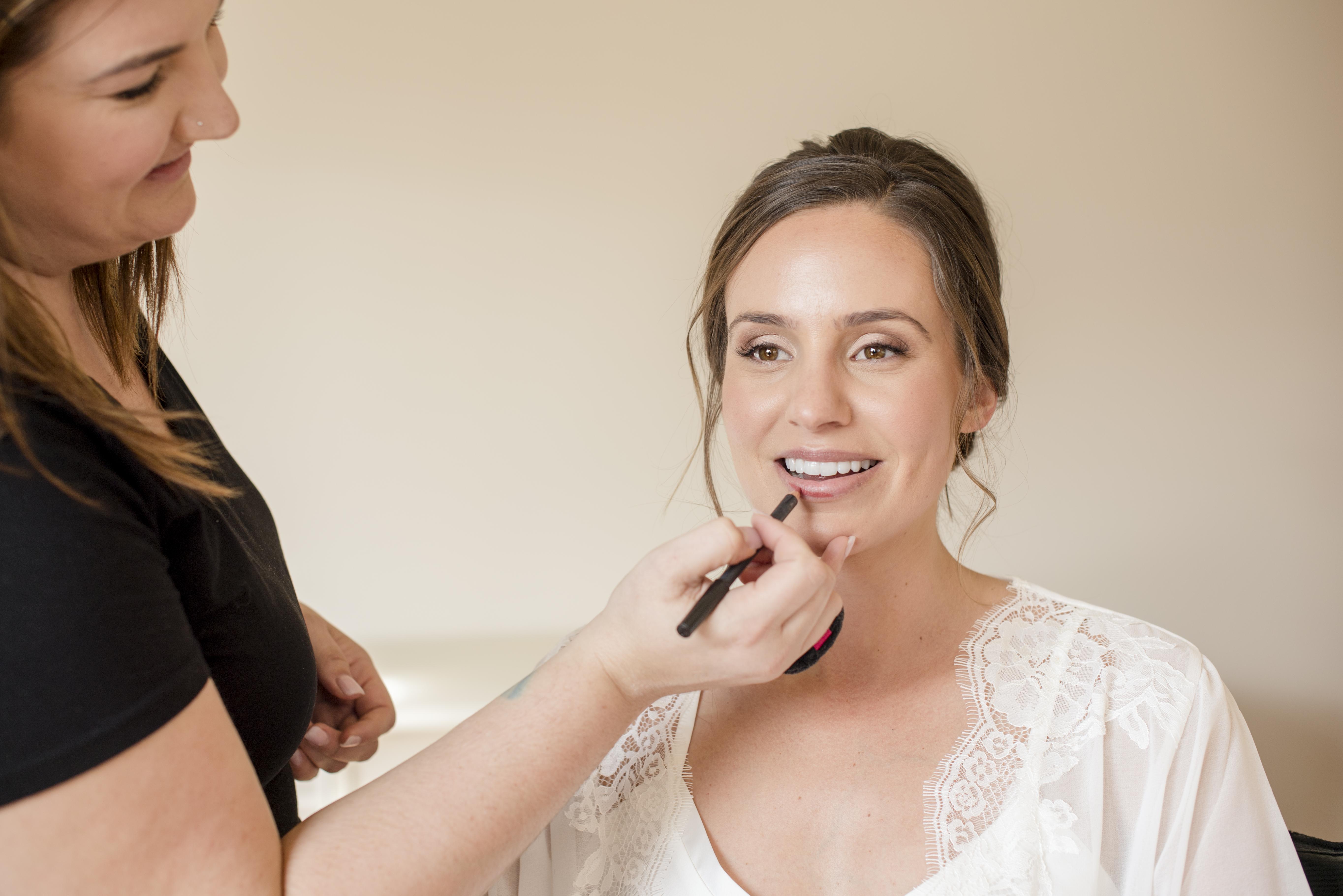 Sonoma Wedding Hair and Makeup
