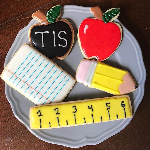 School Sugar Cookies