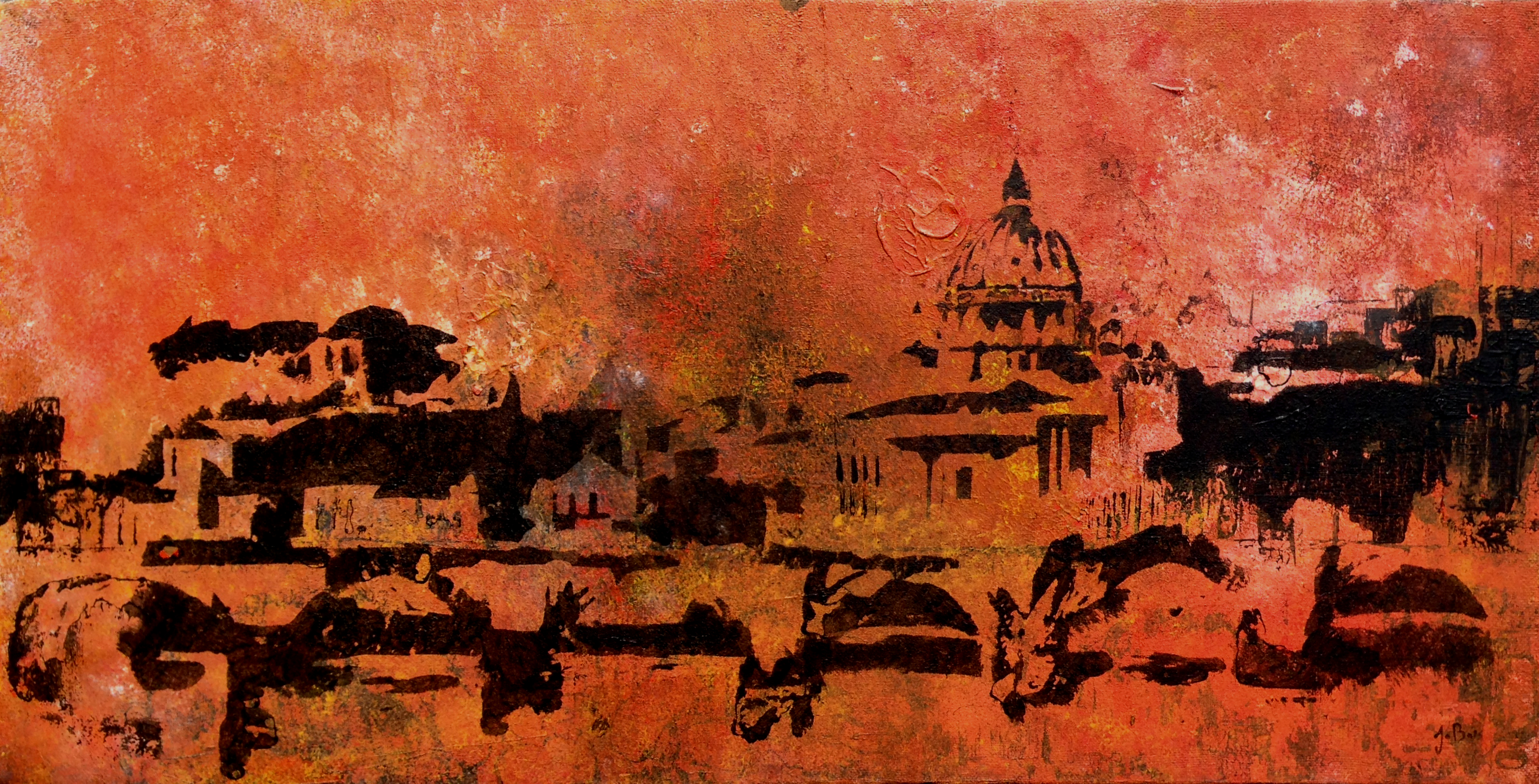 Saint-Pierre Rome abstrait