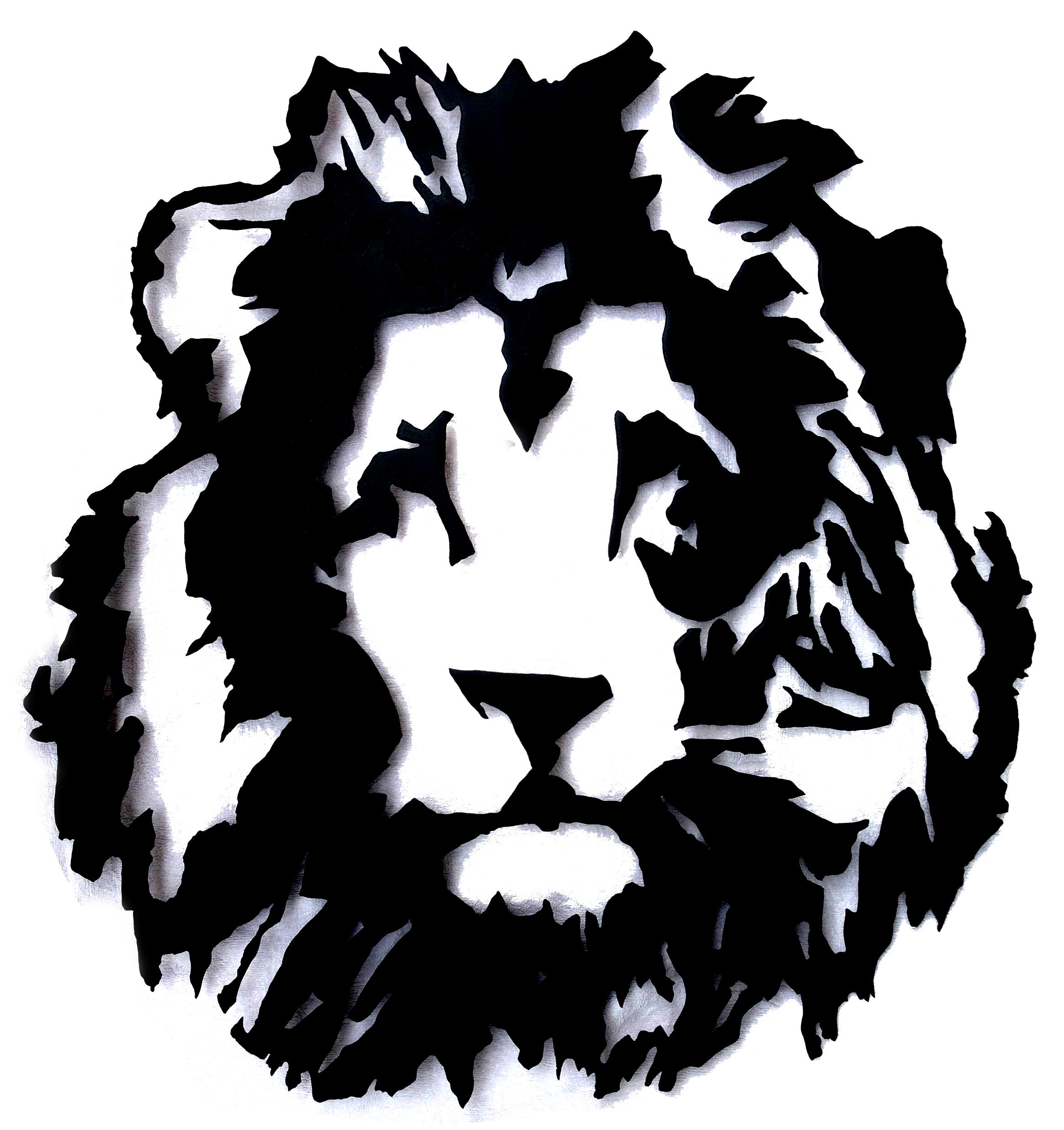 Lion acier