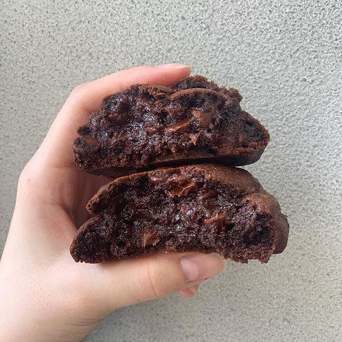 ダークチョコチョコチップクッキー Dark chocolate choc chip cookie