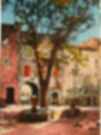 Fontaine de la cour à Barjols