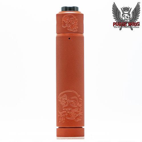 Purge Back 2 Basics V4 Knurled Red Kit