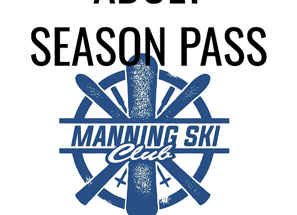 Adult Season Pass (no rentals)