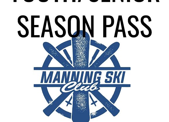 Youth/Senior Season Pass (no rentals)