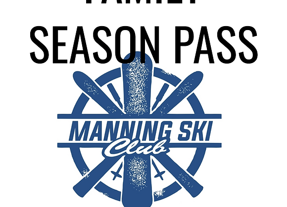 Family Season Pass (no rentals)
