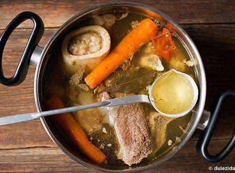 Bone broth... elixir of the goddess - and gramma...