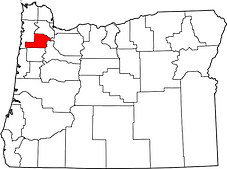 Trask Mountain Range Oregon