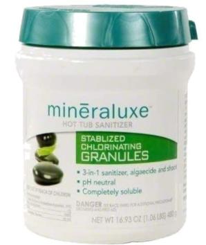 Mineraluxe Chlorine Granular 480G