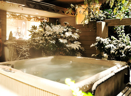 beating the winter blues - look to beachcomber hot tubs!