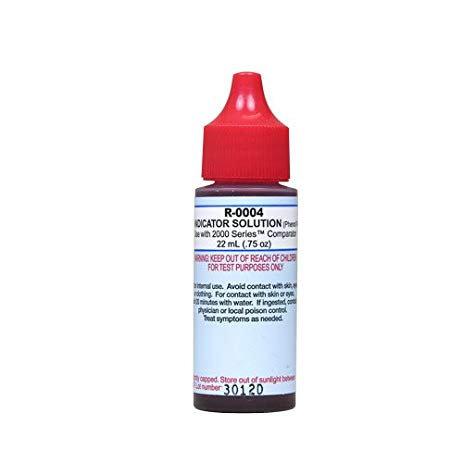 Phenol Red #14 Reagent 3/4 oz.