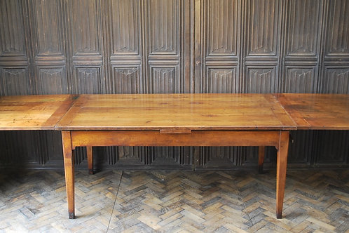 Antique French Farmhouse Extending Table